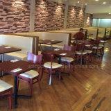 Kommerzielle hölzerne Feld-Gaststätte-Möbel gebogener Stand und Tisch (sp-CS335)