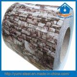 Кирпича Prepainted зерна стали катушки PPGI/PPGL холодного рулонов