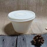 Bol de papier 400ml de fécule de maïs remplaçable biodégradable de vaisselle