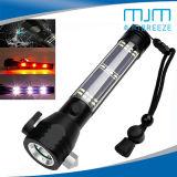 緊急のハンマー及び車緊急LEDの懐中電燈が付いている高品質太陽LEDのトーチ