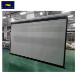 135 Zoll-16:9 HD Fiberglas-Gewebe-elektrischer Projektions-Bildschirm für Heimkino/Schule/Klassenzimmer