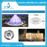 暖かい白、RGB、36Wの24VDC LEDの噴水の水中ノズルライト