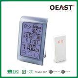 De digitale Klok Ot5560fcp1 van de Kalender van de Temperatuur Barometer