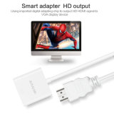 HDMI aan VGA 1080P de Kabel van de Adapter van de Convertor Connecter van Van verschillende media van de Interface
