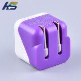 iPhone 6/7/8/X USB力のアダプターのためのFoldable電話アクセサリの充電器