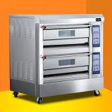 Equipamento de padaria /4 bandejas de gases estufa Deck / forno de pão de gás