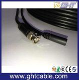 CCTVの保安用カメラのための力のBNC+DC Rg59のビデオケーブル
