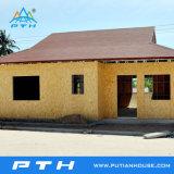 중국은 행락지로 모듈 가벼운 강철 별장 집을 조립식으로 만들었다