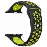 Riem van de Armband van de Sporten van het Silicone van de vervanging de Nieuwe voor Reeks 3 van de Banden van het Horloge van de Appel