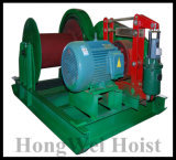 Torno eléctrico del material de construcción eléctrico para la máquina de elevación
