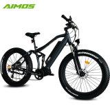 48V 1000W G510中間モーター完全な中断脂肪質のタイヤの電気バイク
