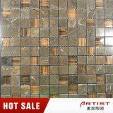 Brown-Farben-Marmor-Mosaik-Mischungs-Glas von Foshan