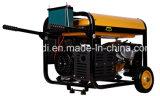 Тепловозное портативная пишущая машинка генератора 8 kVA генератор дизеля Хонда 3 участков
