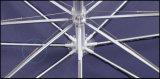 Automatischer geöffneter leichter Aluminiumgolf-Regenschirm des rahmen-27inch 8K