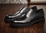 Runde Zehemens-Schwarz-Kleid-Schuh-Modedesigner-Fußbekleidung