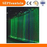 Indoor fiber string Water Rain LED Waterfall  Light Curtain Fountain