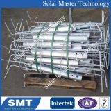 Galvanizado en caliente de montaje de panel solar de tornillo de tierra