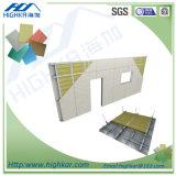 Parede de divisória interior da placa de fibra do cimento refratário do betão leve