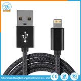 Teléfono móvil de 5V/2.1A Cable cargador USB relámpago de datos para el iPhone