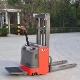 完全な電池狭い通路のための電気パレット力スタッカーの1500kgsペダル