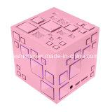 Speler van de Muziek van de Kubus van de Spreker van de kubus de Draadloze Stereo Magische met Kleurrijke HOOFD Lichte MiniSpreker