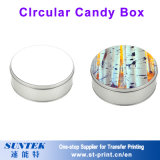 Sublimation-unbelegter Inner-Metallsüßigkeit-Zinn-Kasten-Kerze-Kasten