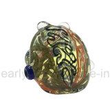Tubulação de água de vidro colorida do injetor de raia para o fumo da erva (ES-HP-551)