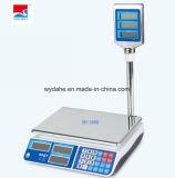 Cocina de pesaje electrónico de alta precisión y escala de precios con poste giratorio Dh-586b
