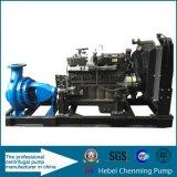 De diesel Pompen van de Brandbestrijding, de Diesel Pomp Met motor van de Brand, de Diesel Pomp van de Brand