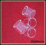 純度の明確な水晶ガラスはフランジの製造者を鳴らす