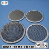 Discos redondos y del rectángulo de la dimensión de una variable del filtro de la pantalla de una sola capa