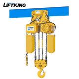 élévateur à chaînes électrique de double renvoi de la chaîne 2t avec le chariot électrique
