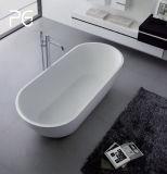 Vasca da bagno di lusso di superficie solida di formati della migliore del codice categoria pietra del getto grande per il ricorso