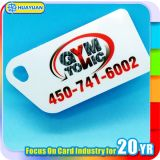 EAN13 barcode printing mini PVC loyalty key tag card