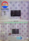 Papier peint en vinyle PVC pour la décoration