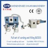Cardage de fibre et machine de remplissage pour le coussin