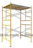 중국 공장 프레임 비계 4 ' *5'는 사다리 프레임 비계를 골라낸다