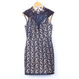 Vestito di un pezzo dal merletto del partito in linea delle donne del commercio all'ingrosso di estate dei nuovi prodotti