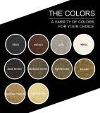 Negro/marrón oscuro de la belleza engrosamiento de la proteína en polvo de fibra de pelo