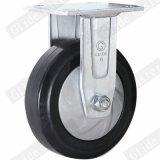 Hochleistungsnylonkern-elastischer Gummi-örtlich festgelegte Fußrolle (G4403D)