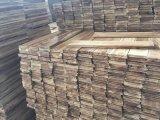 """3,75"""" x 3/4"""" Chinês inacabada curto Leaf Acacia pisos em madeira"""