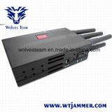 Portátil seleccionable por el teléfono 3G Lojack Jammer GPS con batería de alta capacidad