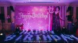 디지털 댄스 플로워 빛을 Wedding LED 단계 디스코