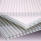 構築の建築材料のための対の壁の空のポリカーボネートシート