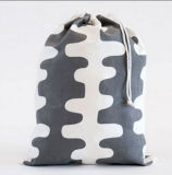 Backpack Drawstring полиэфира с изготовленный на заказ печатание логоса