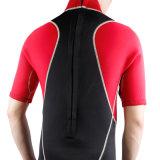 ウェットスーツ(HYCY911-30)をサーフする熱い販売の人のネオプレンのShortyの袖
