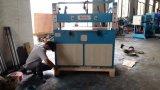 Couro hidráulico da moldura do vidro de originais Xclp2-250/máquina cortando da borracha/saco de plástico