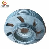Cnc-maschinell bearbeitende Aluminiumsand-Gussteil-Riemenscheibe