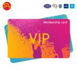 Tarjeta de plástico de alta calidad para la membresía VIP (muestra)