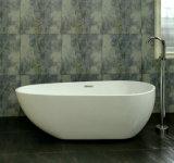 Vasca da bagno indipendente degli articoli sanitari acrilici moderni di stile (633)
